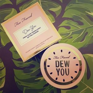 NWT Too Faced Dew You Setting Powder